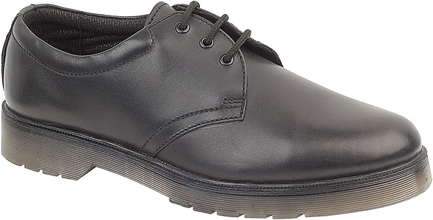 Amblers Aldershot Ladies Gibson   Womens shoes (7 US) (Black)