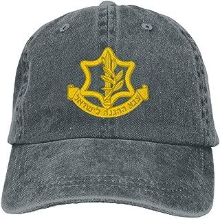IDF Israeli Defense Force Logo Adult Dad Hat Baseball Hat Vintage Washed Distressed Cap