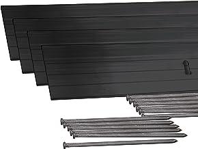 Dimex EasyFlex Aluminum Landscape Edging Project Kit, Will Not Rust Like Steel, Black (1806BK-24C)