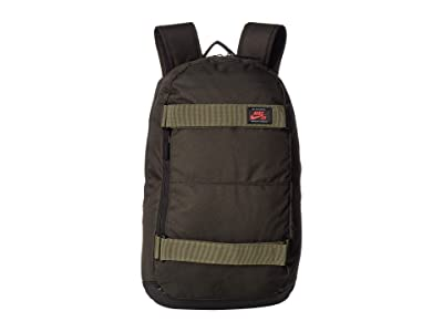 Nike SB Courthouse Backpack (Sequoia/Medium Olive/Ember Glow) Backpack Bags