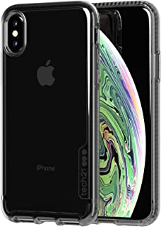 Tech21 Pure Tinta Cover Nero, Traslucido - Custodie per telefoni cellulari (cover, Apple, Apple iPhone XS, Nero, traslucido)