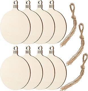 Best round wood craft discs Reviews
