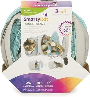 SmartyKat Fringe Frenzy Cat Activity Tunnel