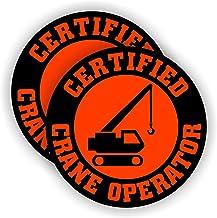 Crane Operator Superhero Fist American Flag Industrial Construction Crane Hero Hand Car Window Decal Sticker