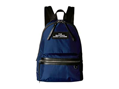 Marc Jacobs Large Backpack (Night Blue) Backpack Bags