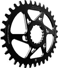 Leonardi Factory Gecko Track Oval Cannondale Offset 6 Plato De Bicicleta, Hombre
