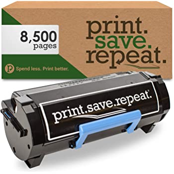Inksters Remanufactured High Yield Toner Replacement for Dell B5460DN 25k Pages B5465DNF