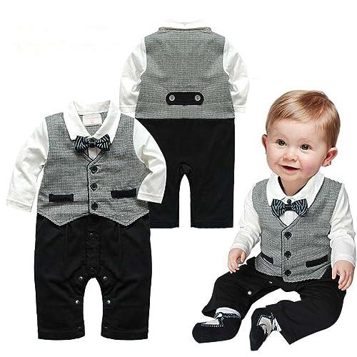 e63645f4b1aada sfpong Baby Jungen (0-24 Monate) Body grau 7-12 Monate
