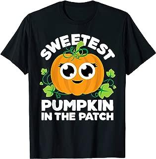 Pumpkin Patch Shirt Girl Sweetest Matching Sibling Halloween T-Shirt