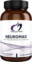 Designs for Health NeuroMag - Magtein Chelated Magnesium L-Threonate Supplement - Non-GMO + Gluten Free (90 Capsules)