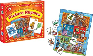 I Spy a Mouse in the House! Picture Rhymes Educational Board Game
