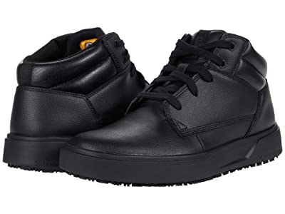 Caterpillar ProRush SR+ Chukka (Black Action Leather) Men