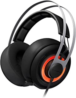 SteelSeries Siberia Elite Headset with Dolby 7.1 Surround Sound (Black)