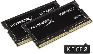 HyperX Impact DDR4 HX426S15IB2K2/16 Memoria RAM 2666MHz CL15 SODIMM 16GB Kit (2x8GB)