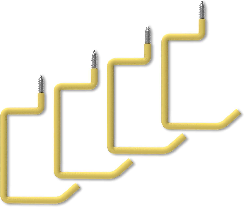 POETISKE Heavy Duty Screw-in Ladder Hooks Garage Storage Industry No. 1 latest Gold Or