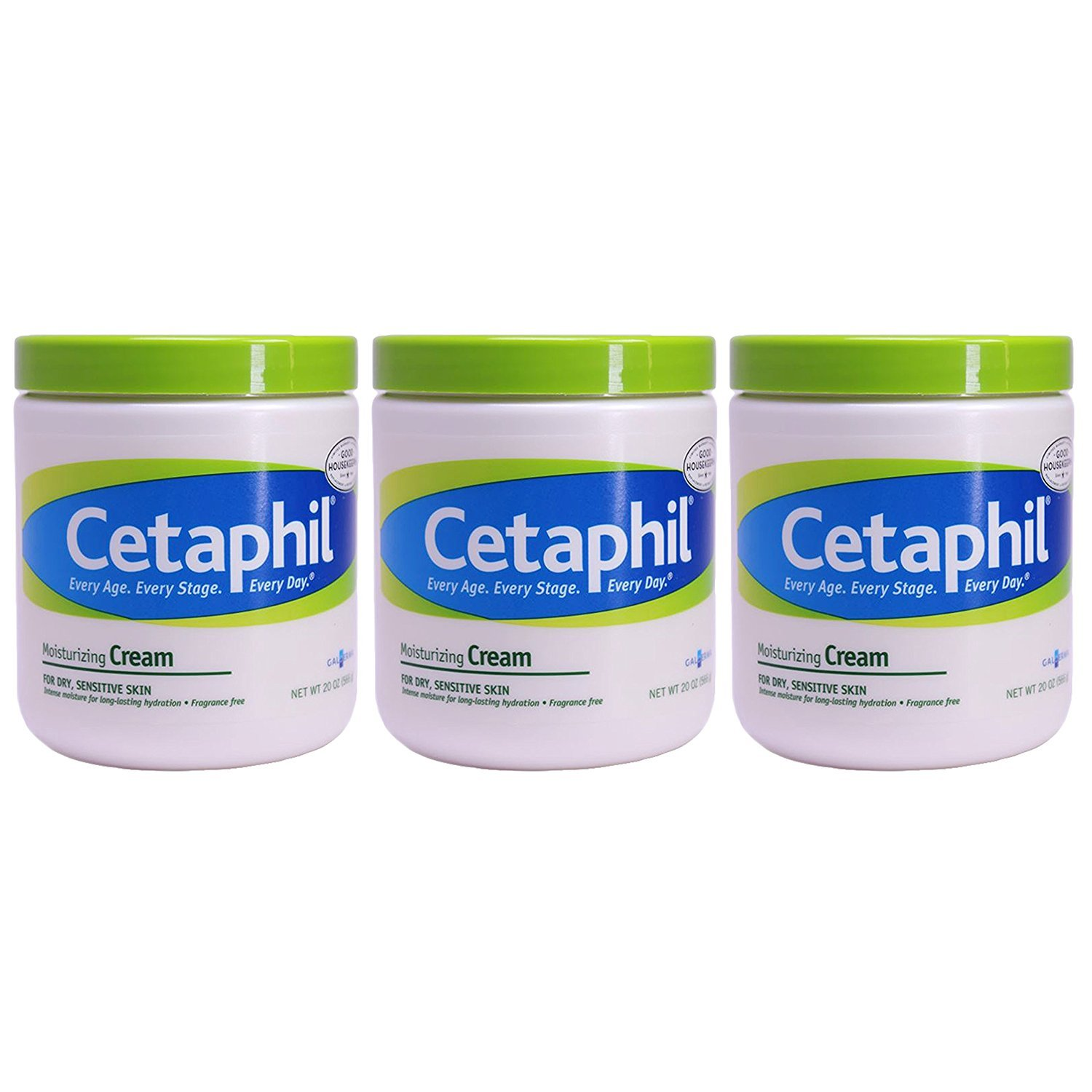 Cetaphil Moisturizing Cream for Dry Max 71% OFF Sensitive 20 Ounce Ranking TOP19 Skin