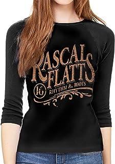 HangHisi Rascal Flatts Boys /& Girls O Neck Regular Style Tee Long Sleeve T Shirt Leisure Black