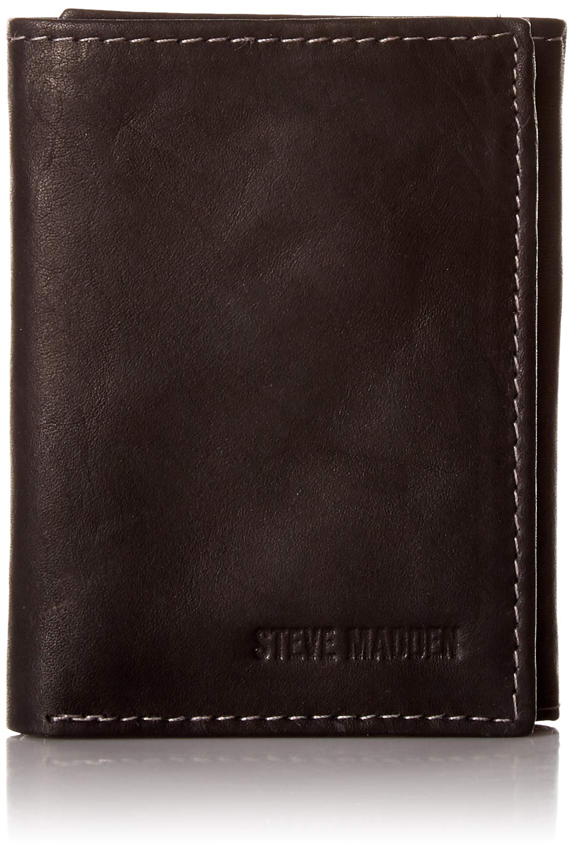 Steve Madden Men S Rfid Leather Trifold Wallet Buy Online In Honduras At Honduras Desertcart Com Productid 136774301