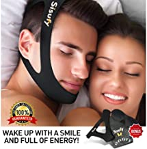 Anti Snoring Chin Strap - Premium Snoring Solution and Anti Snoring Devices - Snoring Chin Strap for CPAP Users - Snore Stopper Sleep Aid
