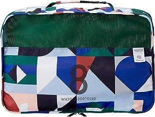 [ミレスト] 旅行用便利グッズ 旅行用収納 収納ケース 衣類 撥水 パッキングオーガナイザー 8L×2 パッキングオーガナイザー Wポケット PAPIER TIGRE×MILESTO MLS719