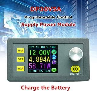 Dušial Power Supply Adjustable Step Down Programmable Direct Current Constant Current Voltage with Integrated LED Display Voltmeter Ammeter DP30V5A