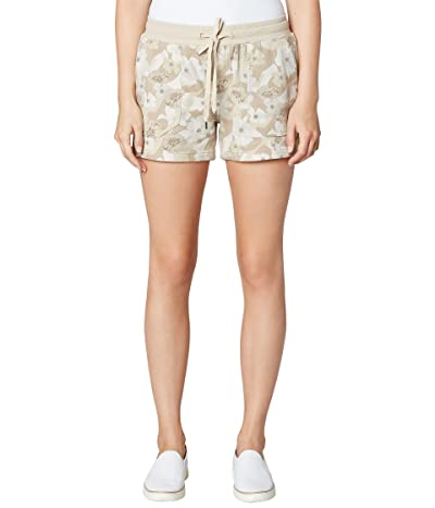 Liverpool Pull-On Knit Shorts with Porkchop (Sand Flower Camo Print) Women