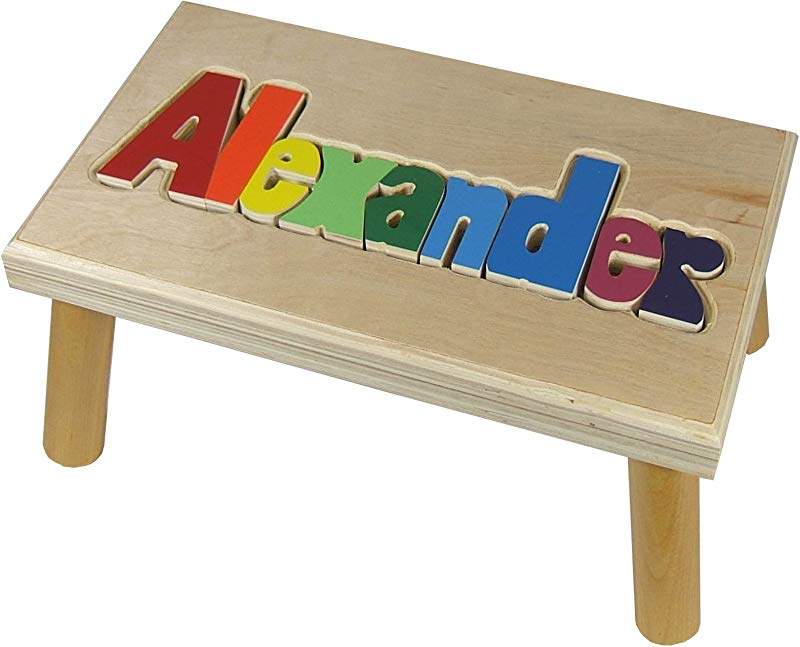 Name Puzzle Stool Up To 12 Letters 1 Name Primary Letters