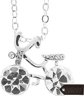 NirvanaIN Clear Quartz Crystal Necklace Healing Crystal Gemstone Necklace Boho Style Tear Drop Necklace Natural Quartz Crystal Necklace Christmas Gift