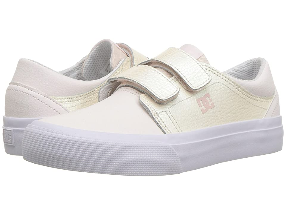 DC Kids Trase V SE (Little Kid/Big Kid) (Light Pink) Girls Shoes
