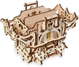 S.T.E.A.M. Line Toys UGears Models 3-D Wooden Puzzle - Mechanical Table-Top Games Deck Box