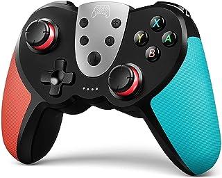 Controlador Wireless Pro para Switch/Switch Lite - Joypad Premium para videogames - 3 níveis de velocidade turbo - Tecnolo...