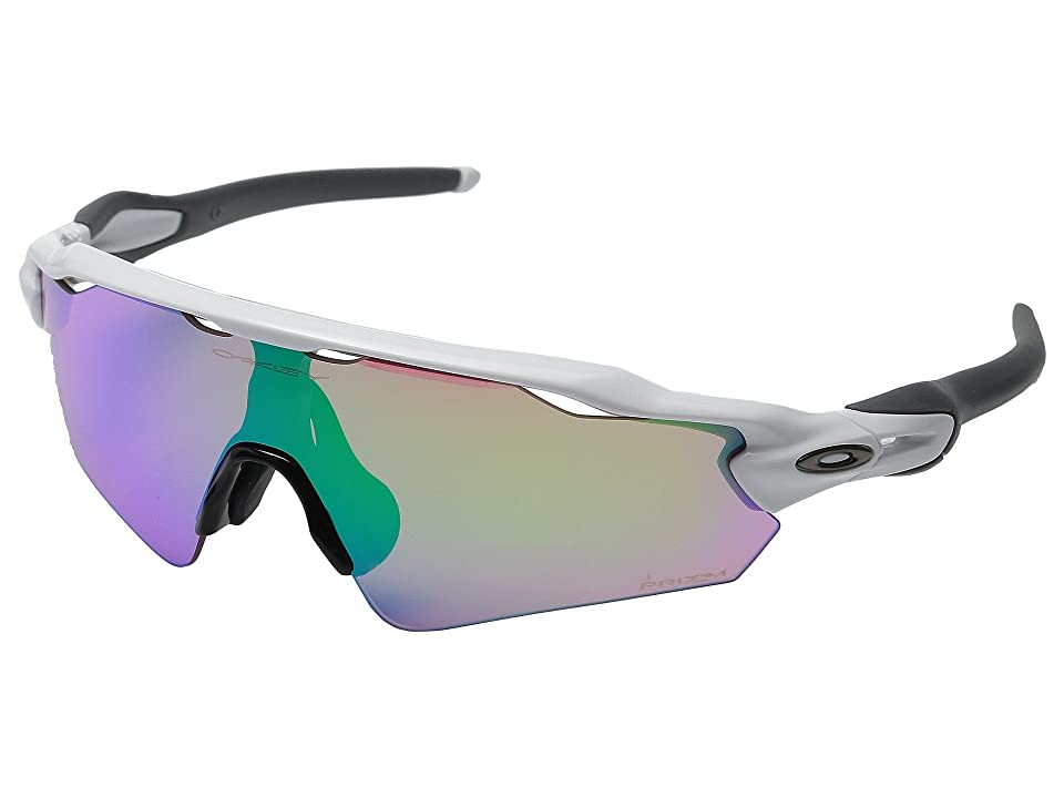 Oakley Radar EV Asian (Polished White/Prizm Golf) Sport Sunglasses