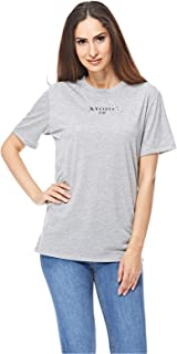 NEON ROSE T-Shirts For Women, S, Grey