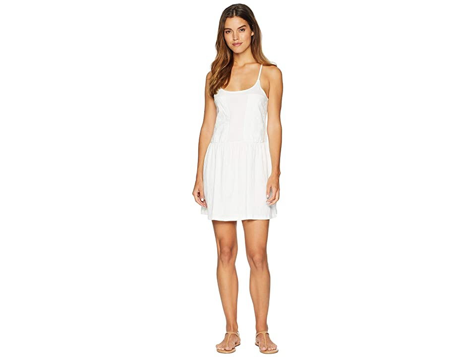 Roxy Lapointe Beaches Tank Dress (Marshmallow) Women