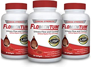 Flomentum® USP Verified Saw Palmetto Prostate Supplement for Men - Supports Healthy Urinary Function - Clinical Strength E...