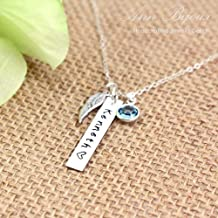 Best hand stamped mother daughter necklace Reviews