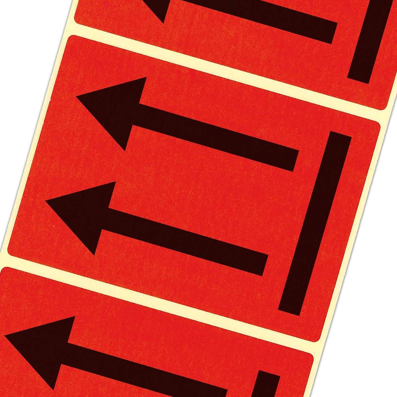 2000 Etiketten Versandetiketten Ausrichtungspfeile hier oben  LQ GHS UN Pfeile Haftpapier 105 x 72 mm leuchtend rot B01ATG5HO8   Hat einen langen Ruf