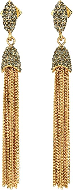 Vince Camuto - Chain Tassel Fringe Earrings