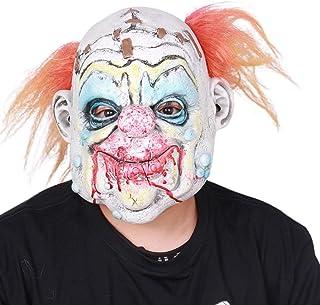 Thrivinger Maschera da Clown Horror - Maschera da Clown di Halloween - per Uomini/Halloween Copricapo Copricapo Puntelli R...