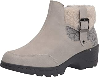 JBU by Jambu womens Haven- Water Resistant Ankle Boot, Stone White, 7 US