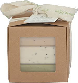 Simply Be Well Set of 3 Everyday Scented Bar Soaps Gift Boxed - 5 Ounces Each