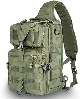 Mochila táctica, bandolera militar, para rover, para deportes al aire libre, caza, trekking y camping