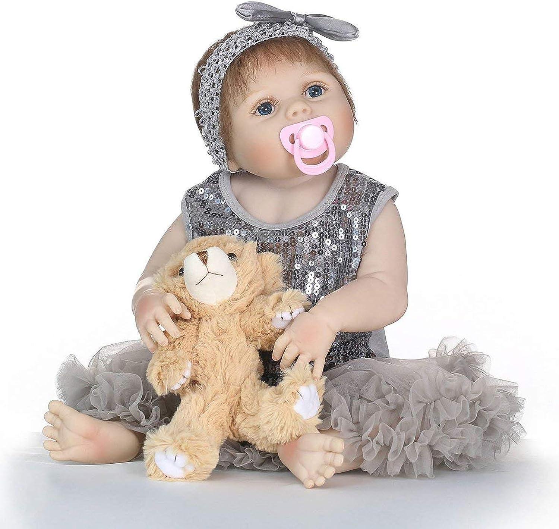 hasta un 65% de descuento Kongqiabona 21 Pulgadas de Vinilo de Silicona Suave realistas realistas realistas recién Nacidos muñeca del bebé Toddler Reborn Baby Doll no tóxicos encantadores Niños juegan Juguetes  despacho de tienda