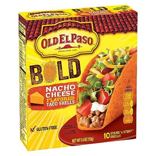 Old El Paso Taco Shells - Nacho Cheese - 5.4 oz