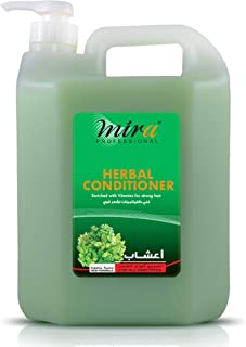 Mira Herbal Conditioner Enriched with Vitamins use for all hair types 5Ltr