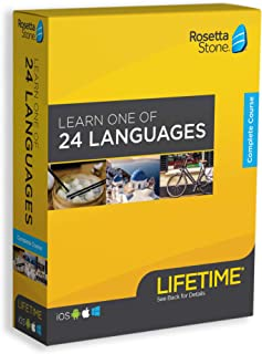 Rosetta Stone: Learn a Language with Lifetime Access - Choose from 24 Languages [Key Card]