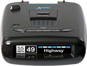 Escort X80 Laser Radar Detector - Extreme Long Range Early Alert Protection, False Alert Filter, Multi Color OLED Display,...