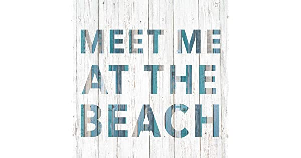 Paperproducts Design 1252435 Meet me at The Beach Beverage Paper Napkin Blue