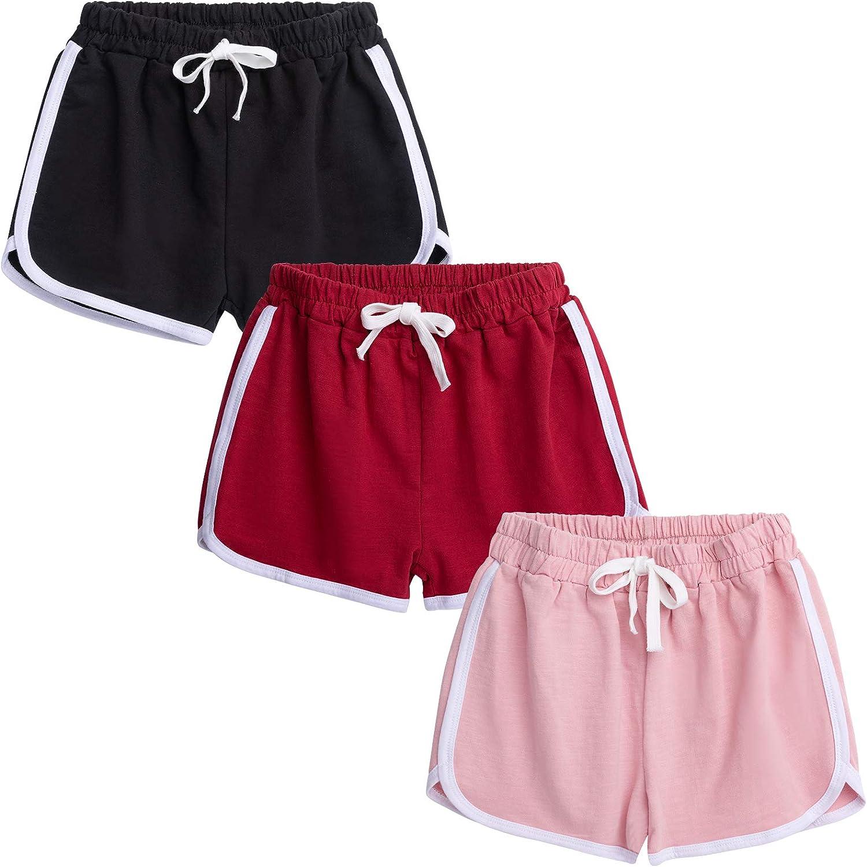 Boys Girls Sport Max 82% OFF Shorts Kids Summer Athletic Baby Running Over item handling