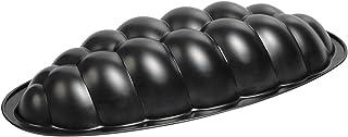Kaiser 2300658988 Moule en Forme de Tresse 38cm Noir, Acier, 28 x 28 x 18 cm